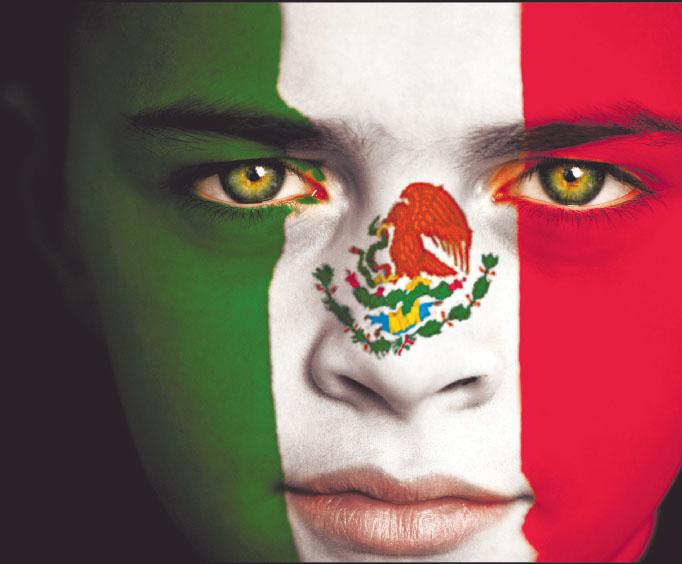 La Bandera De Viva Mexico