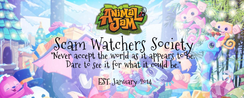 Animal Jam Scam Watchers Society