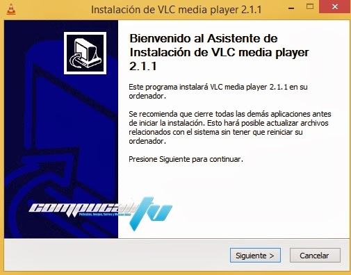 VLC Media Player Versión 2.1.1 Final Español