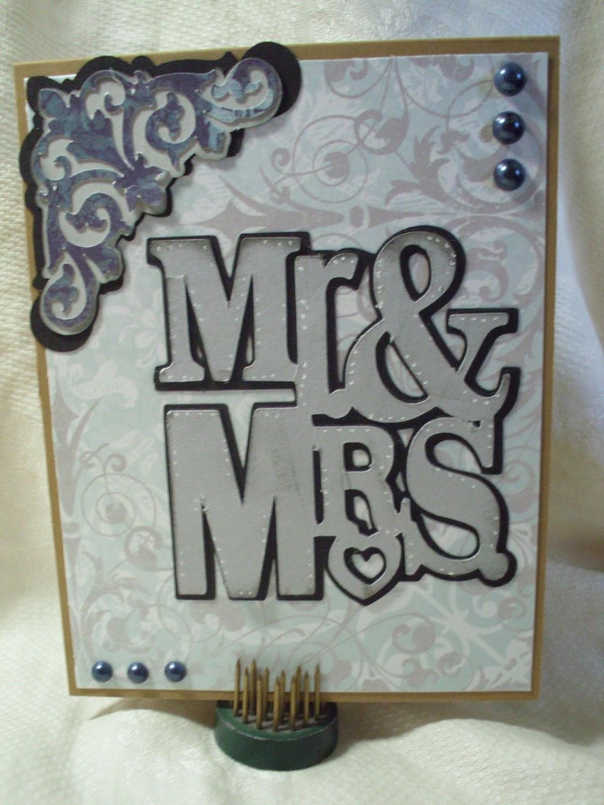 Cricut Wedding Card Ideas