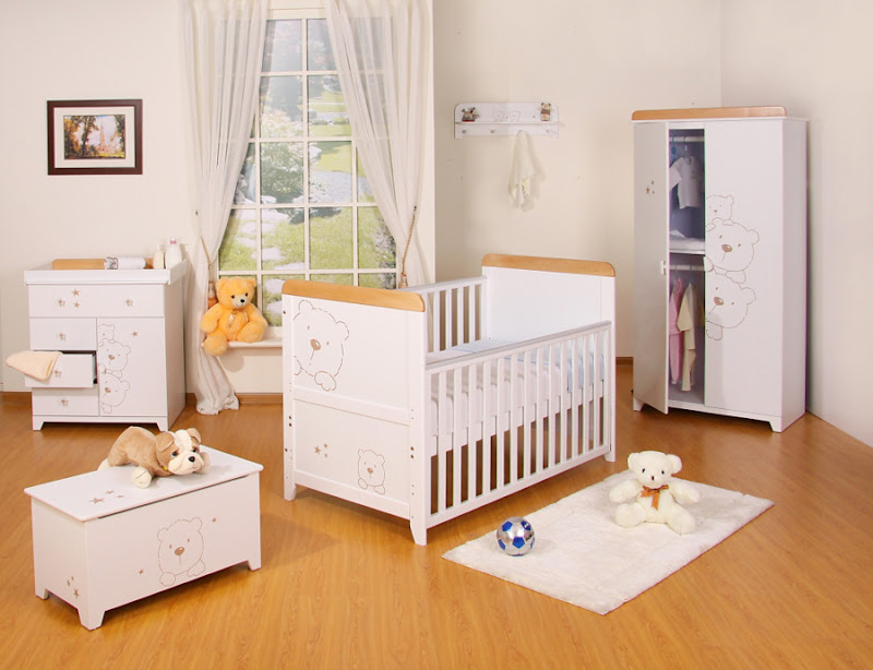 Nursery Room Furniture Sets (4 Image)