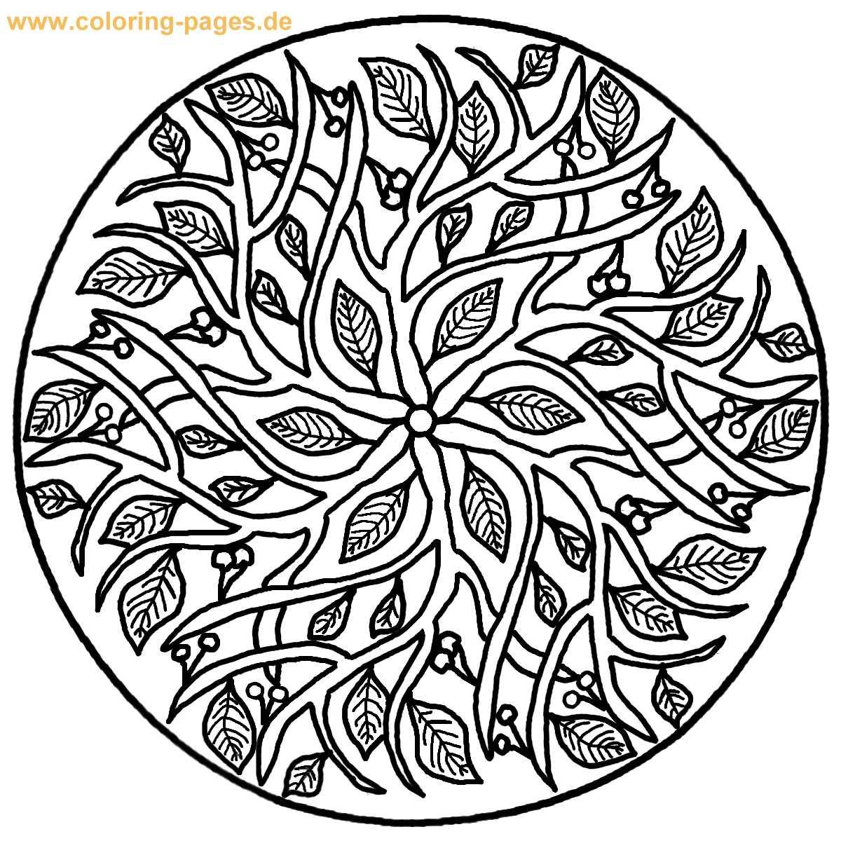 Mandala Best Coloring Pages