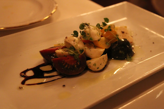 Caprese salad at Ristorante Massimo, Portsmouth, N.H.