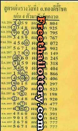 Thai lotto 3up Tass Tip 16-09-2014