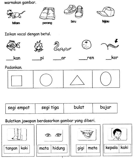 Kerja Rumah Bahasa Melayu Tahun 2 Omong F