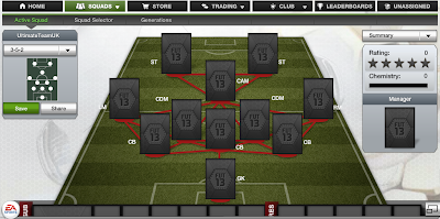 FUT 13 Formations - 3-5-2 - FIFA 13 Ultimate Team