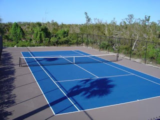 the Surfaces of  tennis