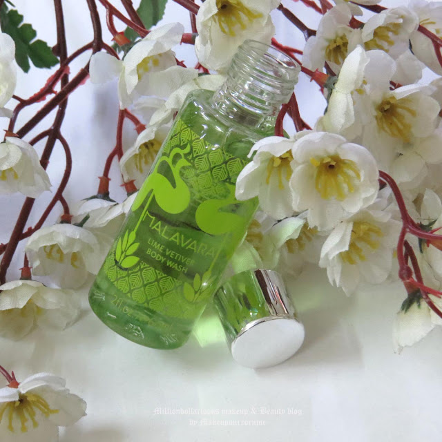 Malavara Lime Vetiver Body Wash Review, Pictures and Price, Body wash review, shower gel review, citrus fragrance, malavara bath and body range review, malavara review, indian beauty blogger, indian makeup and beauty blog,