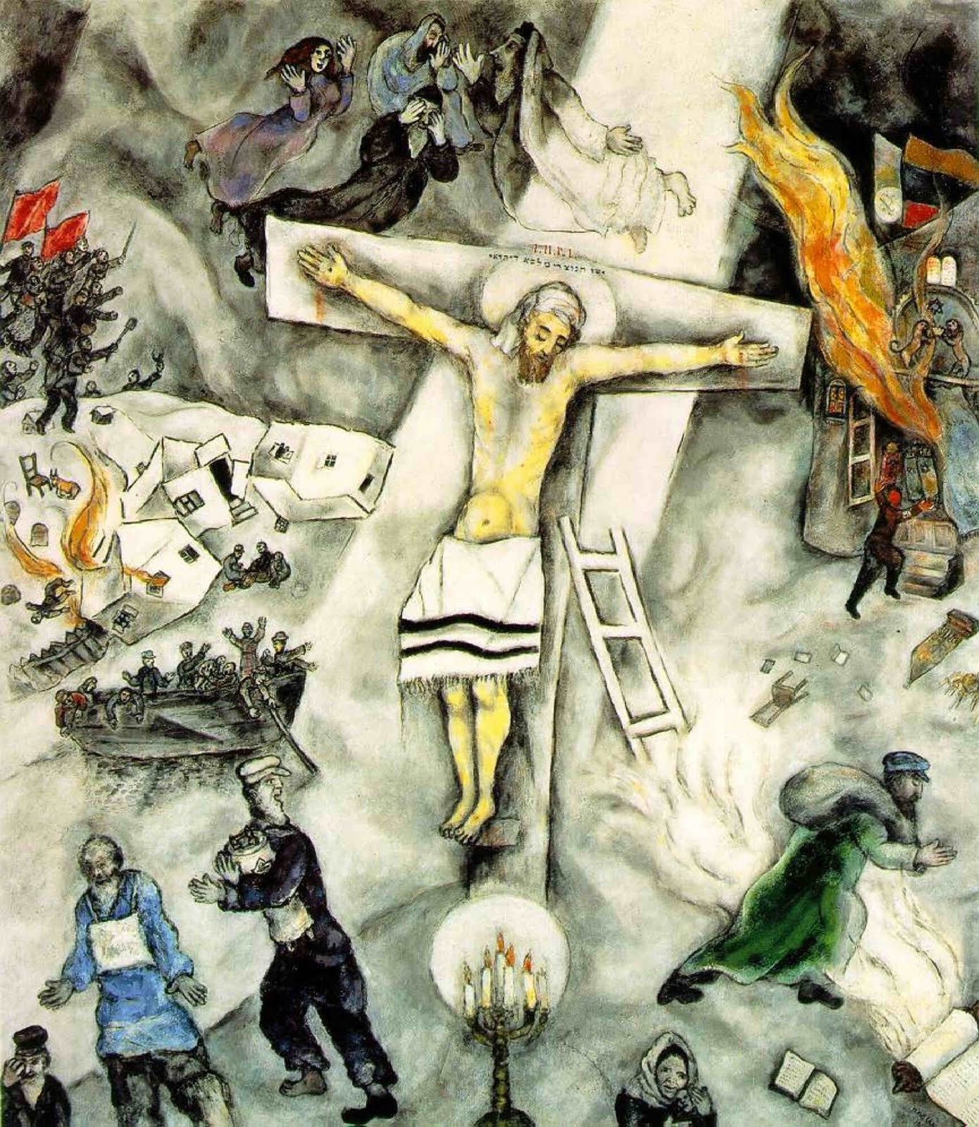 New Liturgical Movement: Is There a Place for Modern Art ... Chagall Crucifixion