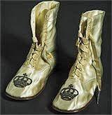 Los famosos zapatos de seda de Sissi