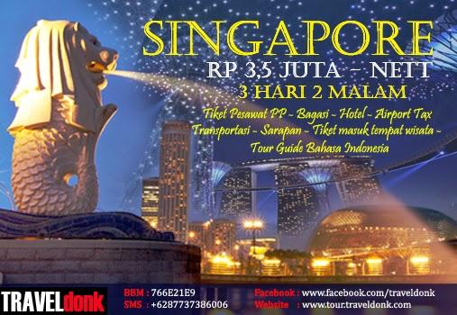 Paket Tur ke Singapore