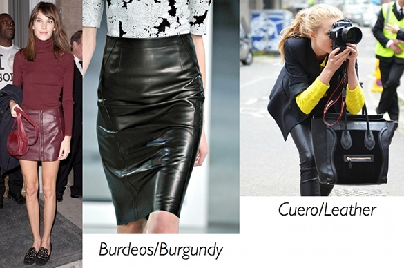 cuero, leather, tendencias