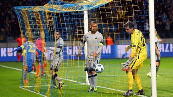Bate Borisov 3 x 2 Roma - Grupo E / Champions League 2015/16