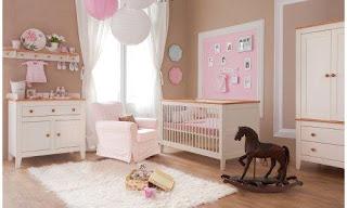 cuarto de bebé rosa chocolate