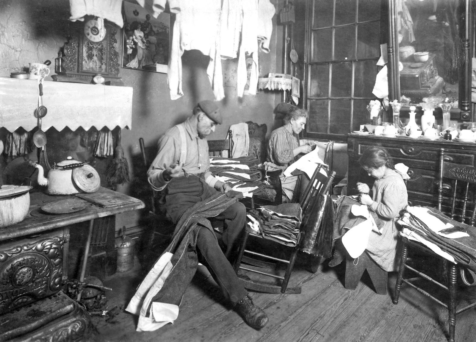 History In Photos Lewis Hine Tenement Workers Ctd