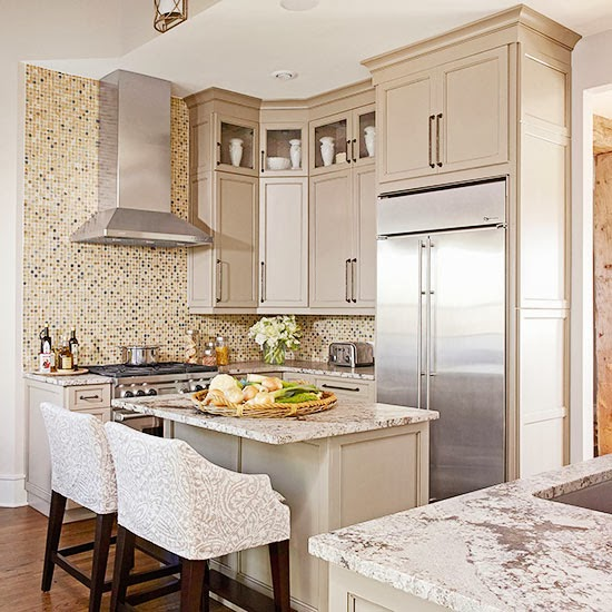 Modern Furniture: 2014 Stylish Stone Kitchen Countertop Ideas