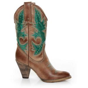 Cowboy Boots Teal4