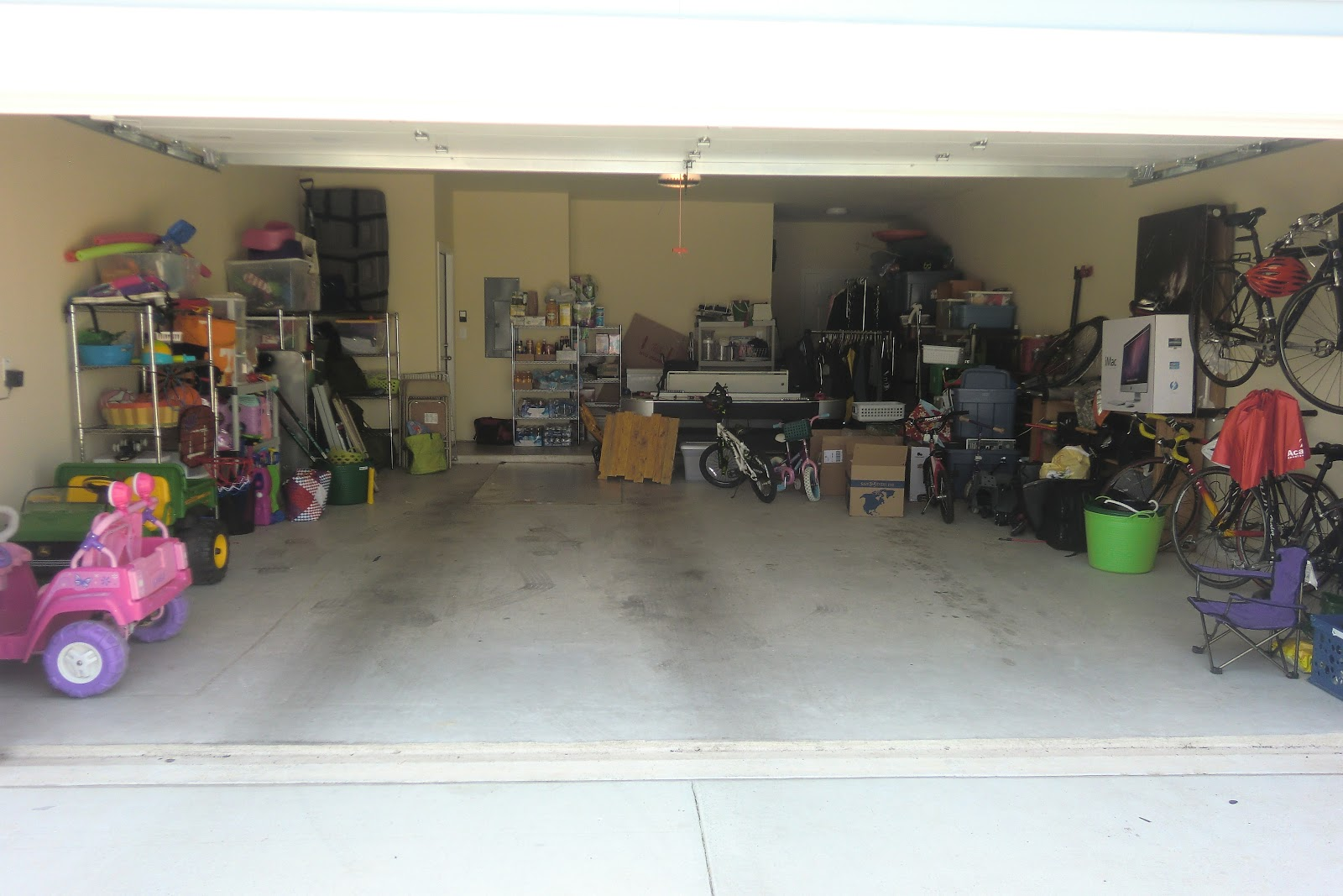 hurley's happy hangout: Saying Yes to the Great Garage Clean-Out ...