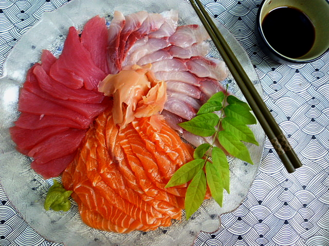 how to make sashimi fish