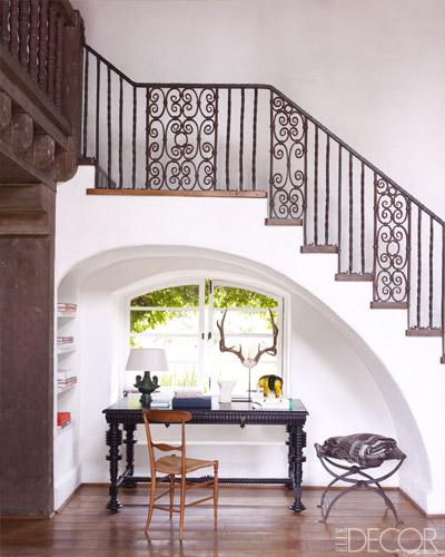 traditional elle decor foyer design