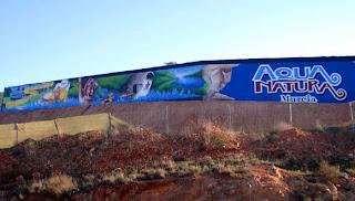 Graffiti Aqua Natura Murcia