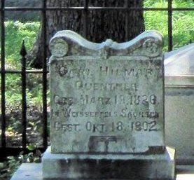 Gravestone of Carl H. Guenther