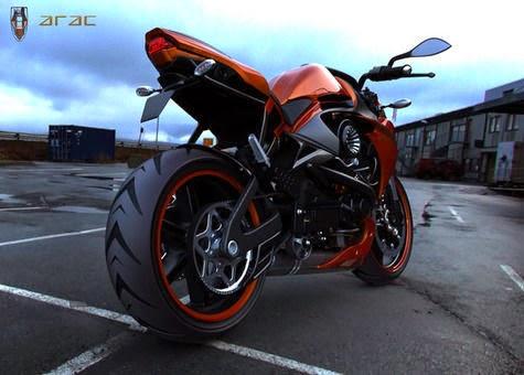 ARAC ZXS 2015: Motorcycle Monster look like a ferocious predator