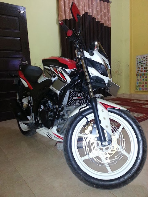 Modifikasi Honda CB150R Streetfighter 2013