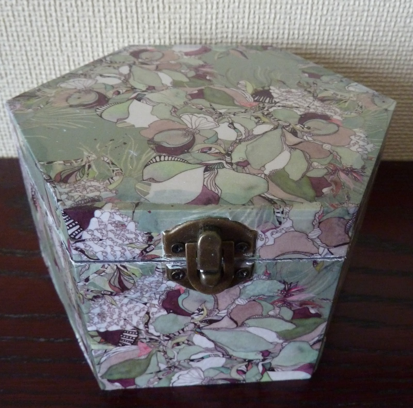 the fruit pixie: craft consortium decoupage paper covered boxes