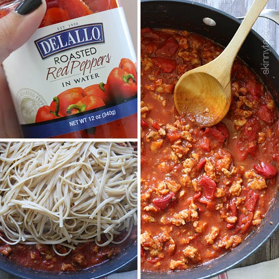 Pasta With Sausage, Tomatoes And Roasted Peppers Recipes ...