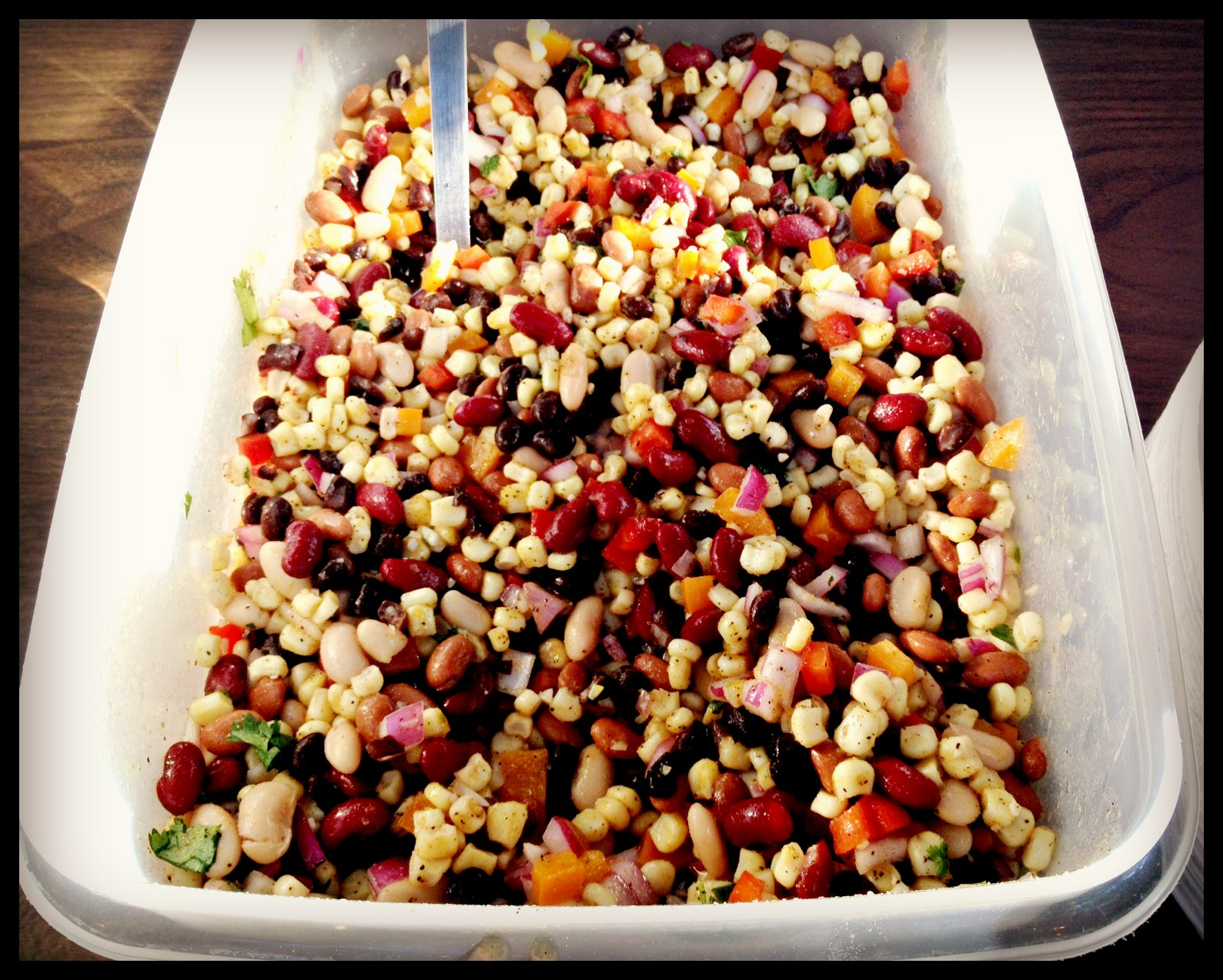 Girl And Her Fork: Mexican Bean Salad