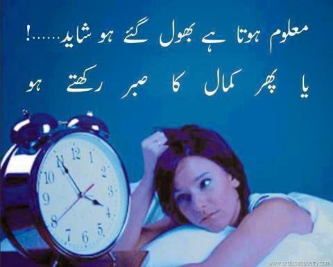 Shayad SMS Shayari In Urdu