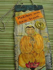 Meditation Door-hanger