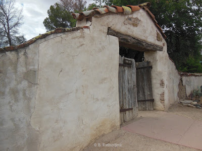 Front Cemetery Gate at Mission San Miguel, © B. Radisavljevic