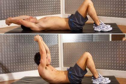 Cara Mengecilkan Perut dengan Long Arm Crunch