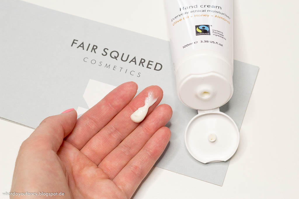 Fair Squared Hand Cream Olive Oil+Honey+Almond