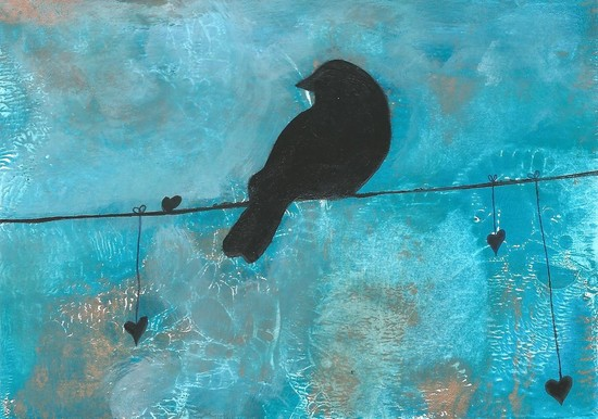 Whoopidooings: Carmen Wing: Bird on a Wire