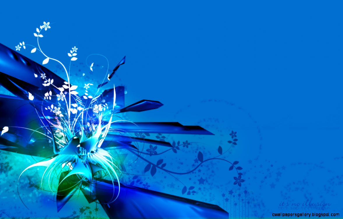 Blue Flower Backgrounds   Wallpaper Cave