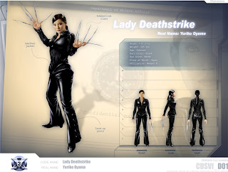 Kelly Hu Lady Deathstrike