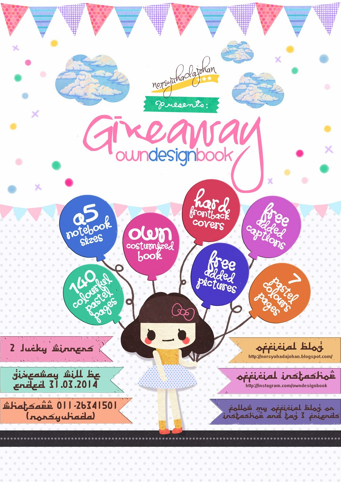 http://norsyuhadajohan.blogspot.com/2014/03/giveaway-owndesignbook-by.html