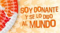 """Incucai lanzó su campaña: """"Soy donante y se lo digo al mundo"""""""