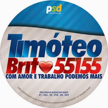 DEPUTADO ESTADUAL TIMÓTEO BRITO