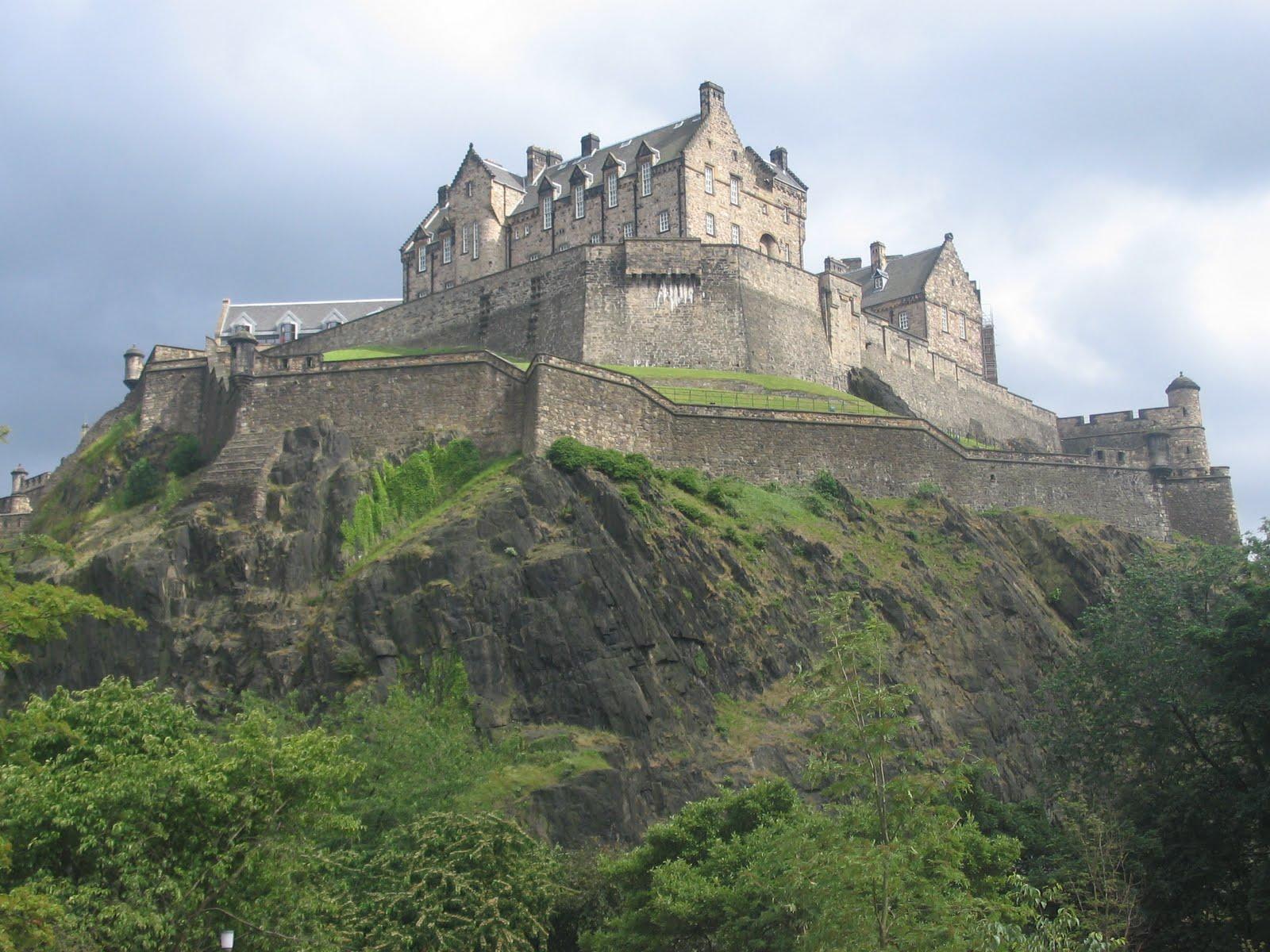 Zamek w Edynburgu, Szkocja [1600x1200]