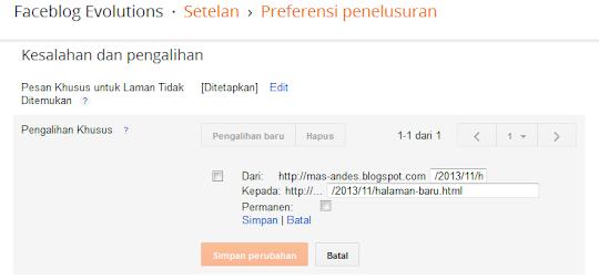 Memahami Konsep Redirect Halaman Blog