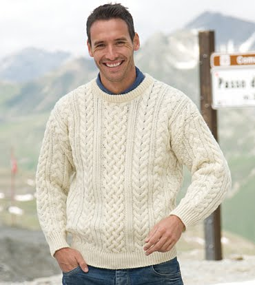 Knitting Pattern Aran Jumper : Knitting Patterns Free: aran knitting