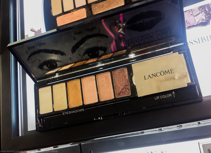 Lancome My French Noel Makeup Palette for Holiday 2015 - Swatches