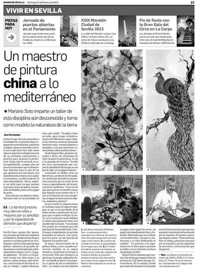 Comentario sobre taller de Mariano Soto