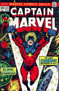 Captain Marvel #29, Cap goes Cosmic