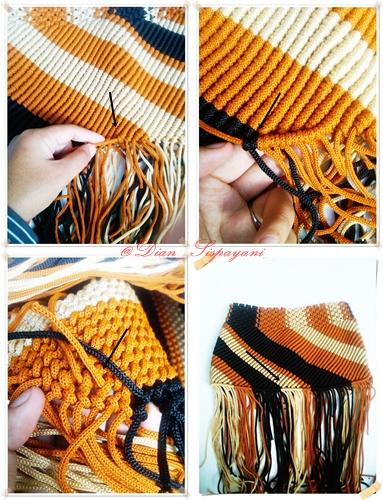 Membuat Bagian Bawah Tas Tali Kur | myideasbedroom.com