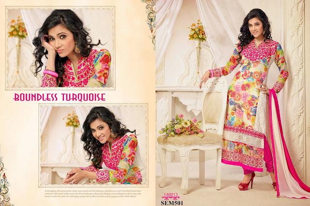 Shilpa Anand In Designer Long Salwar Kameez – Exporter